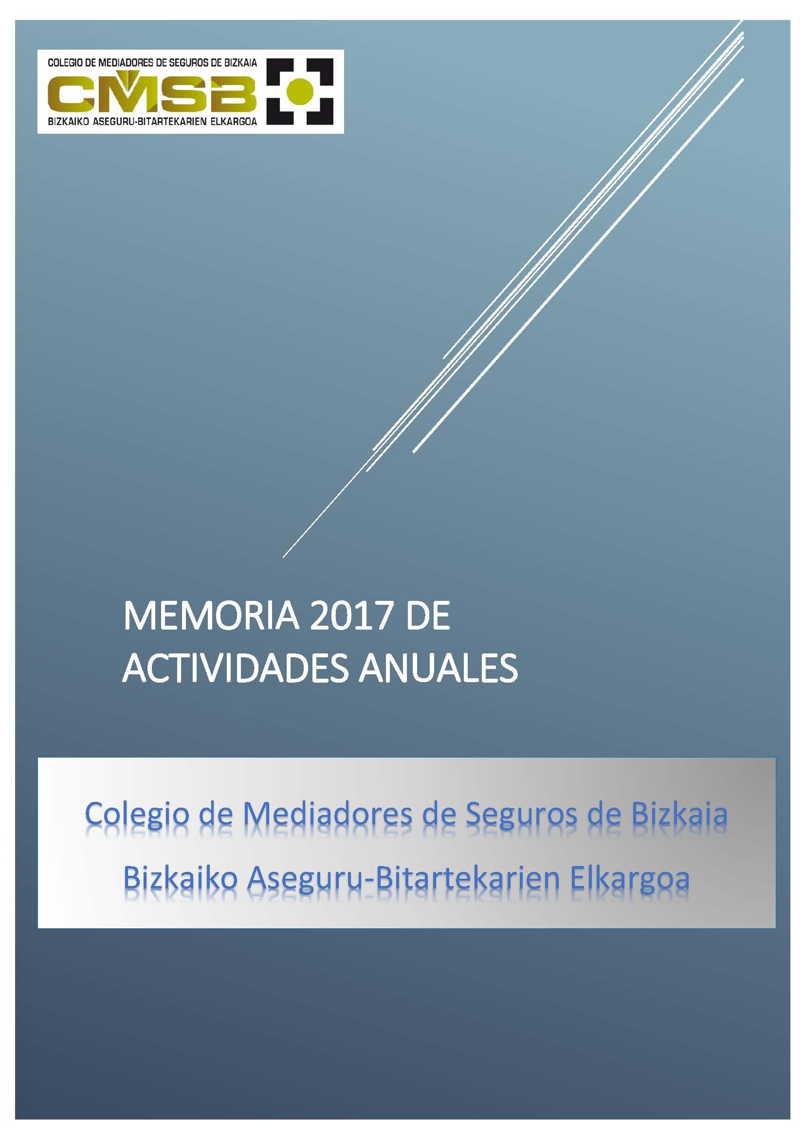 CMSAB - Memoria 2016
